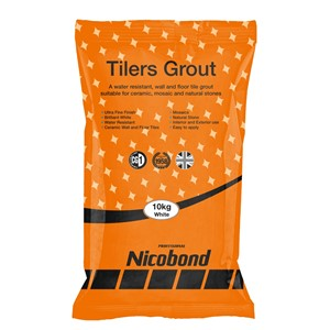 NICOBOND 10KG TILERS GROUT WHITE