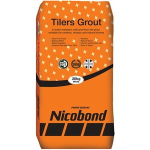 NICOBOND 20KG TILERS GROUT WHITE