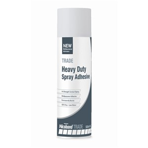 NICOBOND HEAVY DUTY SPRAY ADHESIVE 500ML