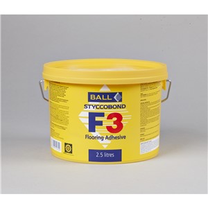 FBALL F3 CARPET AND TILE ADH 2.5LT