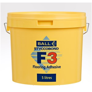 FBALL F3 CARPET AND VINYL ADH 5LT