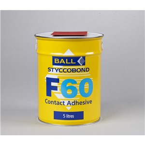 FBALL F60 CONTACT ADHESIVE 5LT FOR PVC & RUBBER COVING (4)