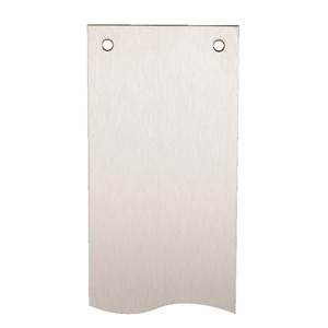 475 X 75 X 1.5MM PSS FINGER PLATE RAD CORNERS D & C/SUNK
