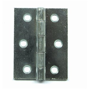 BUTT HINGES STRONG 100MM BRIGHT STEEL 0451-102-08