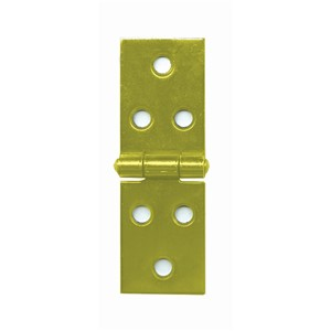 BACKFLAP HINGES BRASS 38X60MM