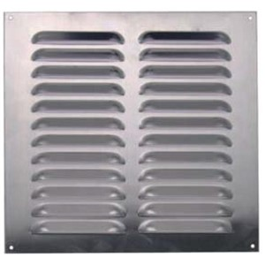 FACE PLATE VENTS (TO SUIT INTM GRILLS) STEEL SILVER 160X270MM