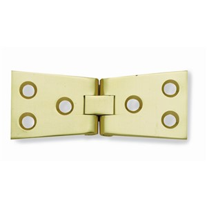 102 X 32 X 3MM COUNTER FLAP HINGE P/BRASS  J9020PB