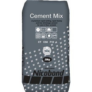 NICOBOND SCREEDPRO CEMENT MIX 20KG