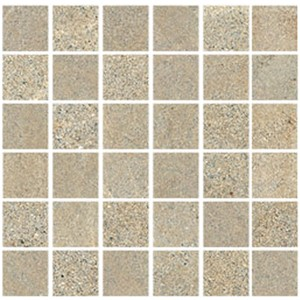 NB18317 DOLOMITI SABBIA MIX MOSAIC STRUCTURED/POLISHED 300X300 (50X50)
