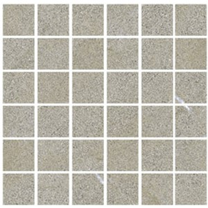 NB18318 DOLOMITI CENERE MIX MOSAIC STRUCTURED/POLISHED 300X300 (50X50)
