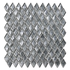 NB17700 SICIS DIAMOND GLASS MOSAIC CULLINAN SILVER 259X266