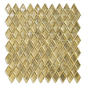 NB17701 SICIS DIAMOND GLASS MOSAIC BUVANGO GOLD 259X266