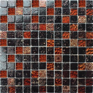 NB1133 CAMDEN BROWN MIXED MOSAIC SHEET 295X295
