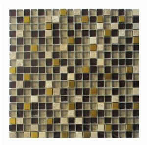 NB1279 CLARITY MOSAIC MIX CREAM/MARRON/GOLD 300X300